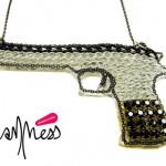 Collier Pow Gun Melody Ehsani - sur Van'Ness Jewels.