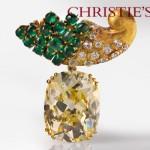 Broche Suzanne Belperron - Vente Bijoux Christie's.