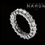 Alliance Diamants Princesse - Édouard Nahum Joaillerie.