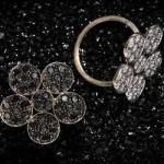 Bague Fleur Diamants - Stone Joaillerie.
