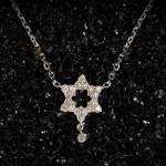 Pendentif Fleur Diamants - Stone Joaillerie.