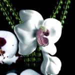 Collier Péridots Orchidées Joaillières - Cartier Joaillerie.