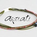 Bracelet Vert 7 Cords Mix - Apriati Bijoux.