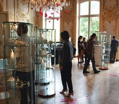 ambiance salon precieux bijoux joaillerie paris made