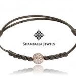 Bracelet Orbite Diamants Blancs - Shamballa Jewels.