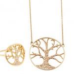 Bijoux Arbre de Vie Diamants - Bijoux Feidt.