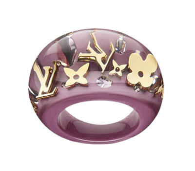 Bague Inculsion , Louis Vuitton Bijoux Fantaisie.