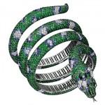 Bracelet Serpent Tsavorites - Boucheron Joaillerie 2011.