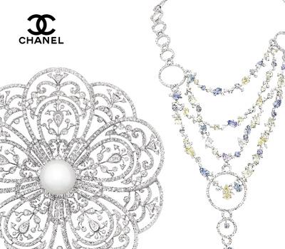 Bijoux v nitienne et cam lia dentelle secrets d 39 orient chanel joaillerie 2011 made in joaillerie - Camelia prenom ...
