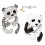 Bagues Panda Morganne Bello - Collection Bijoux Bestiaire.