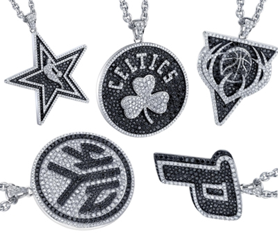 Pendentifs NBA - Bijoux Lamont Jewelry
