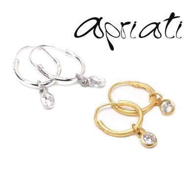 Boucles d'Oreilles Créoles Mini Hoop - Apriati Bijoux