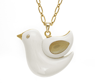 Collier Colombe Do The Hussle Toc - Bijoux Monet