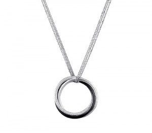 Collier Trinity Céramique Noire et Diamants - Cartier Joaillerie