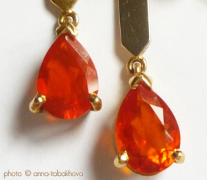 Bijoux en Opales de feu - Mexique