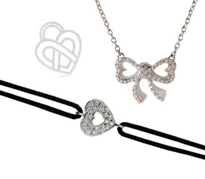 Bijoux Coeur en Diamants - Happy Mother's Day de Poiray