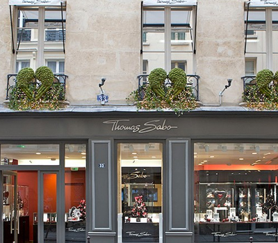 Boutique Thomas Sabo - Bijoux Paris