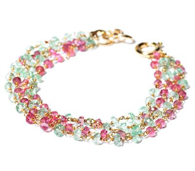 Bracelet Menthe Poivrée, Solstice d'été par Arany Joaillerie