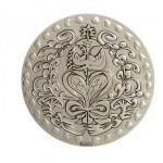 Médaille de Mariage Christian Lacroix et la Monnaie de Paris - Bronze Argenté