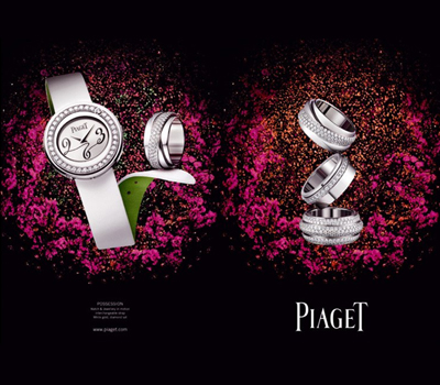 Campagne Publicitaire Piaget 2009 by Saatchi & Saatchi