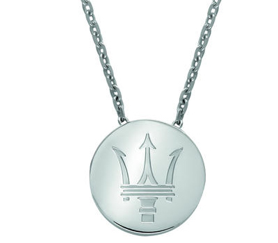 Collier Argent Homme Damiani pour Maserati