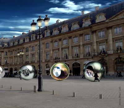 Exposition Perle - De la Mer à l'Écrin - Place Vendôme