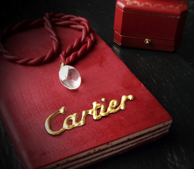 Gâteau d'Amour Rouge Cartier par Christophe Michalak