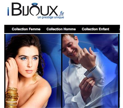 iBijoux.fr - Vente de Bijoux Argent en Ligne