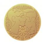 Médaille du Pacs Christian Lacroix et la Monnaie de Paris