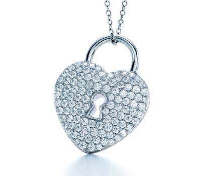 Pendentif Locks en Diamant - Tiffany & Co
