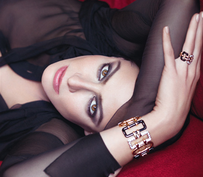 Anna Mouglalis pour les Bijoux Baroque Chanel Joaillerie