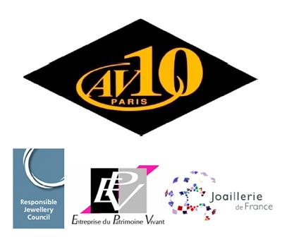Atelier AV10 Certifié par la RJC - Responsible Jewellery Council
