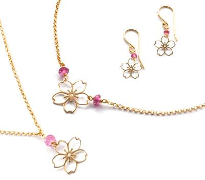Bijoux Sakura par Perle De Lune pour le Japon