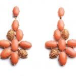 Boucles d'Oreilles Corail Fleur - Henri J. Sillam Joaillerie