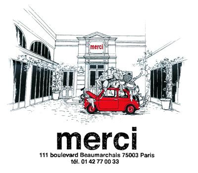 Espace Bijoux et Joaillerie au sein de l'Enseigne Merci Paris