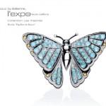 Broche Papillon - Exposition Bijoux Unique by Édéenne
