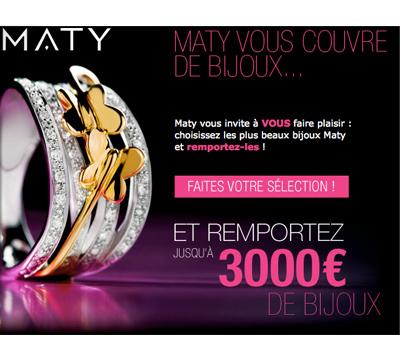 Jeu Concours Bijoux par Maty
