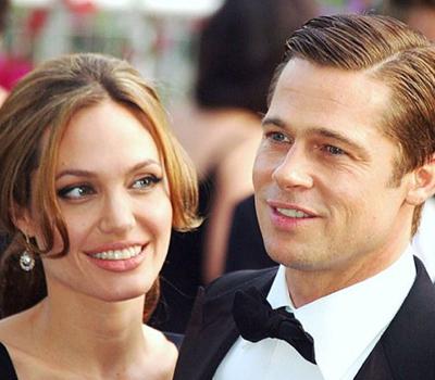 ANgelina Jolie Offre un Diamant Gravé à Brad Pitt