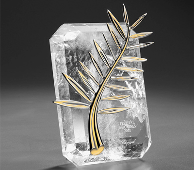 Palme d'Or Chopard pour le Festival de Cannes 2011