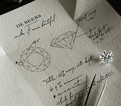 Maison De Beers Diamants - Le De Beers Iris
