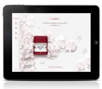 Application iPhone et iPad Bridal Mon Diamant Par Cartier