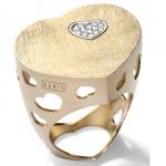 Bague Q-Ori Brossée - Bijou Nanis Jewelry