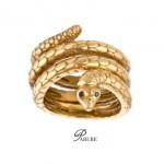 Bague Serpent par Priscilla Bialek pour Parure