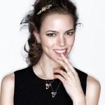 Bijoux Lily Cluster Platine et Diamants - Harry Winston