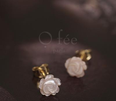 Bijoux boucles d'oreilles de la marque O Fée Paris