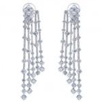 Boucles d'Oreilles Multi-Rangs Diamants Arpeggia - De Beers