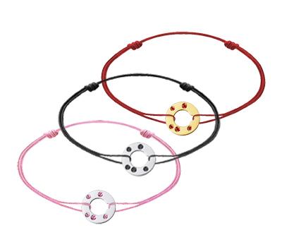 Bracelet Cibles Dinh Van été en Pierres de Couleurs
