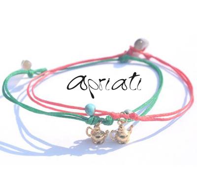Bracelet Tea Pot d'Apriati Jewelry