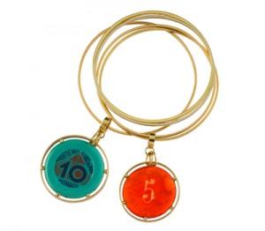 Bracelets Bangle Money Go Round par Francesca Villa Joaillerie
