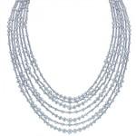Collier Multi-Rangs Diamants Arpeggia - De Beers Joaillerie